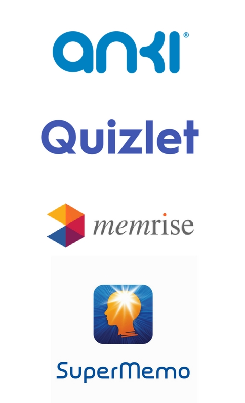 Programy stosujące SRS. Anki, Quizlet, Memrise, Supermemo
