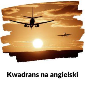 Ogłoszenia w samolocie - Kwadrans na angielski Lekcja 88