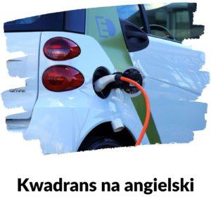 Samochód elektryczny - Lekcja 96 | Kwadrans na angielski