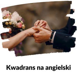 Nowożeńcy - Lekcja 104 | Kwadrans na angielski